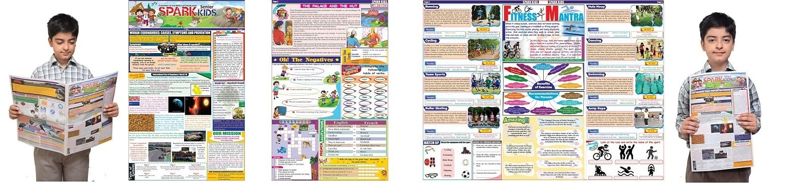 Spark Kids Senior Newspaper